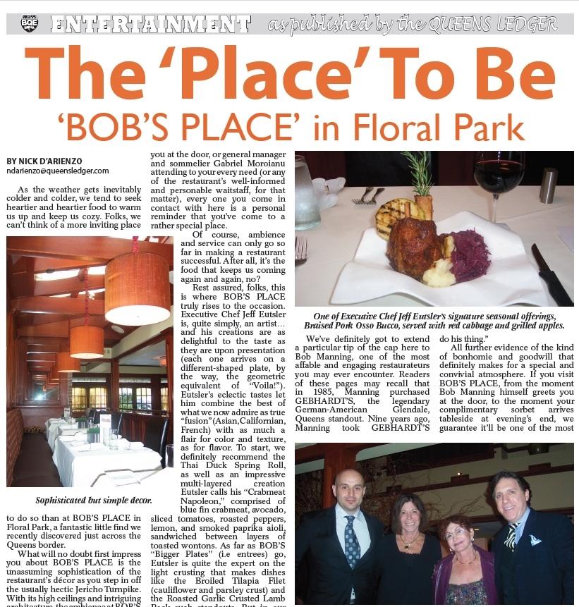 Bob's Place Restaurant
