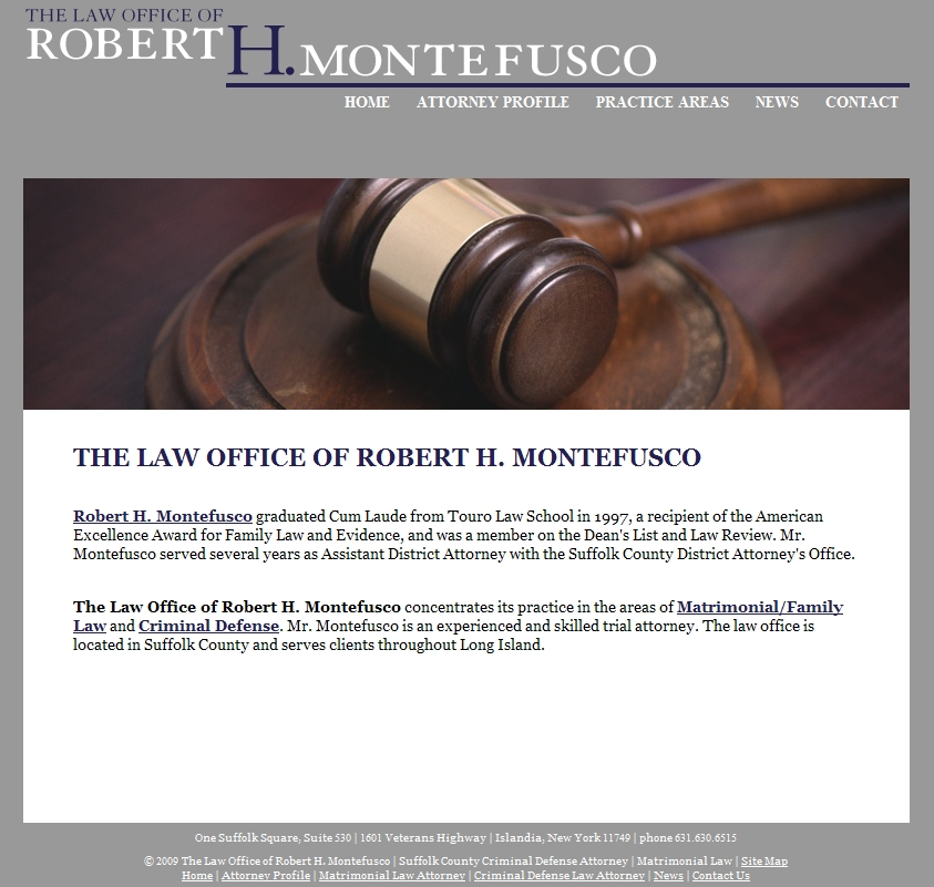 Montefusco website