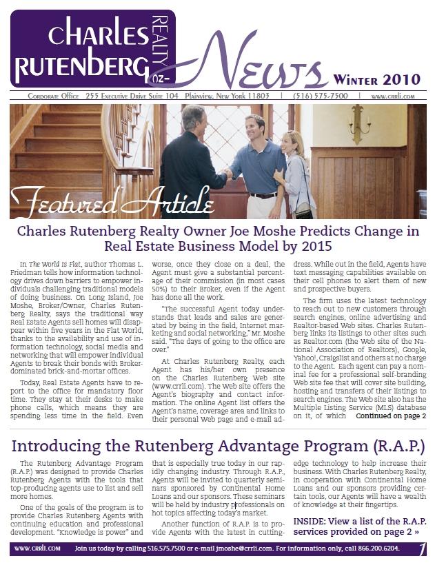 Rutenberg newsletter