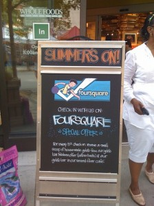 FourSquare - Photo Courtesy of Whole Foods Market