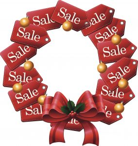 Sale Tag Wreath