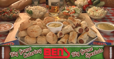 """Bet on Ben's to Cater Your """"Big Game"""" Events"""