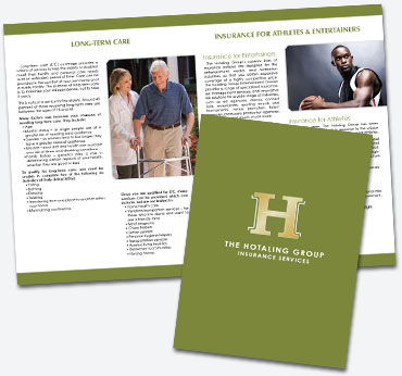 The Hotaling Group: 16 Page Booklet Brochure