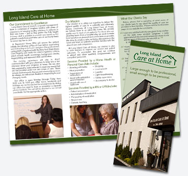 LI Care at Home: Trifold Brochure
