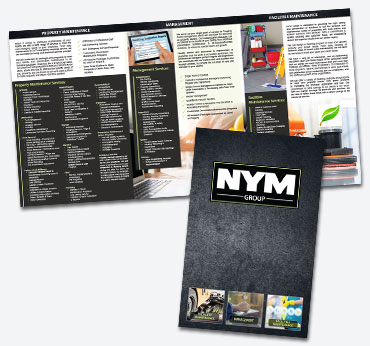 NYM Group: Oversized Trifold Brochure