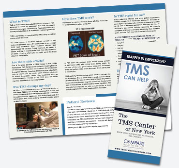 Compass Health Group: Trifold Brochure