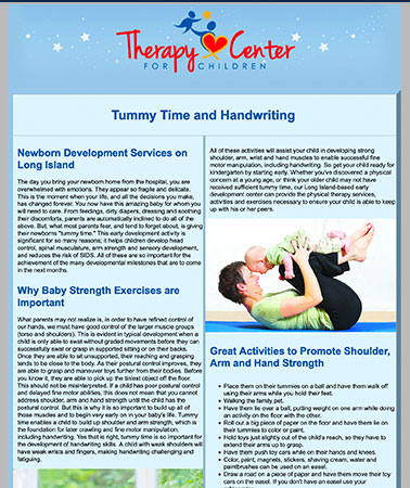 Therapy Center for Children: E-Newsletter