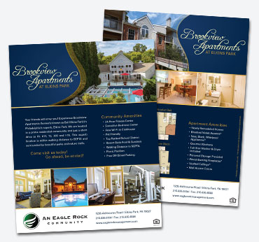 Brookview Apartments: Flier