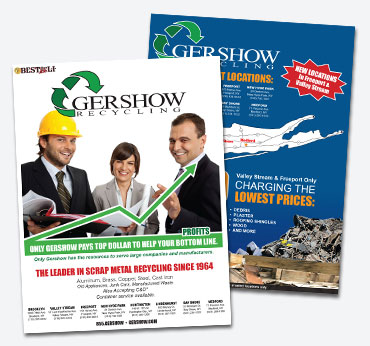 Gershow Recycling: Flier