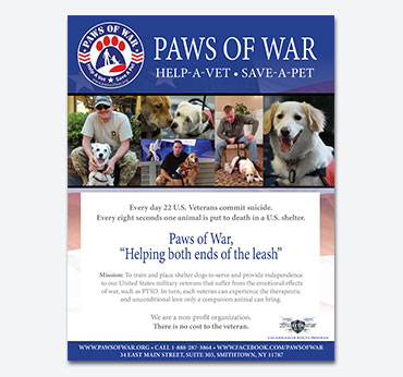 Paws of War: Flier