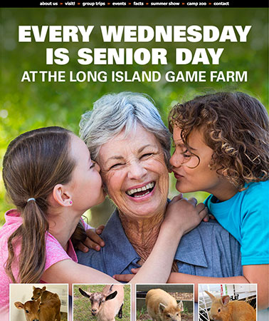 Long Island Game Farm: Email