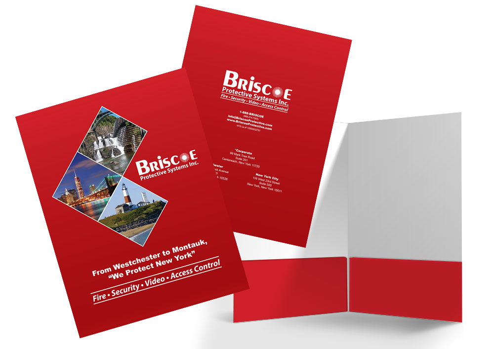 Briscoe Protective Systems: Presentation Folder