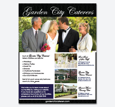 Garden City Caterers Ad