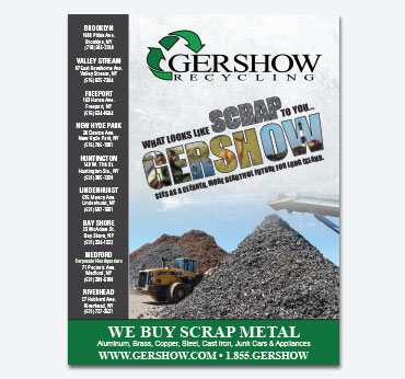 Gershow Recycling Ad