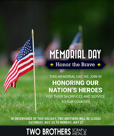 Two Brothers: Memorial Day Email