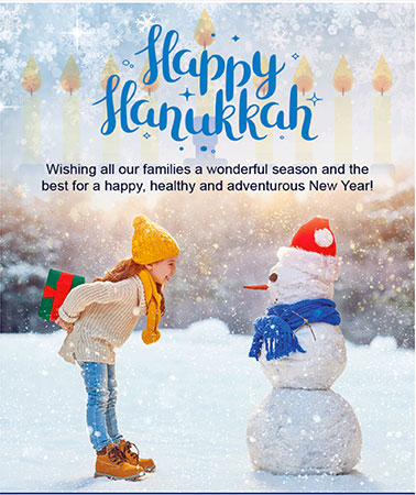 Therapy Center for Children: Hanukkah Email