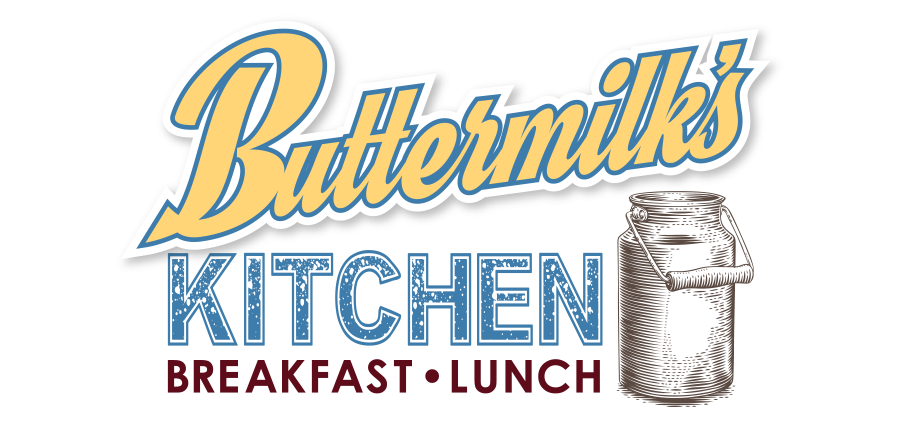 Buttermilks Kitchen: Logo