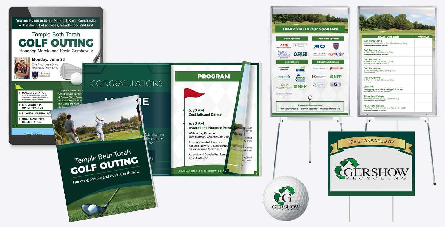 Event Marketing - Golf Outing 2021